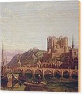 Saumur -  By The Loire Valley  Wood Print