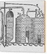 Savery's Engine Wood Print