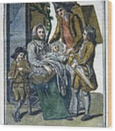 Savoyard Family, C1797 Wood Print