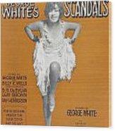 Scandals Songsheet, 1928 Wood Print