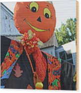 Scarecrow Candy Wood Print