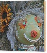 Scarecrow Wood Print