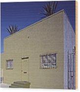 Scenes Of Los Angeles, A Nondescript Wood Print