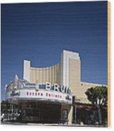 Scenes Of Los Angeles, The Mann Bruin Wood Print by Everett