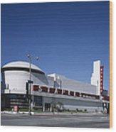 Scenes Of Los Angeles, The Merle Norman Wood Print