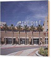 Scenes Of Los Angeles, The Pike Wood Print