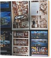 Scenes Of New York Wood Print by Rob Hans