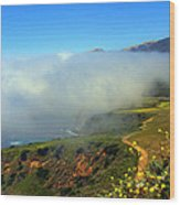 Scenic Pacific Coast Wood Print
