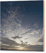 Scenic Sunset Over Malapascua Island Wood Print