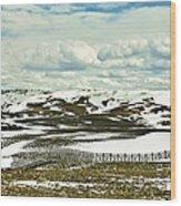 Scenic Wyoming Wood Print