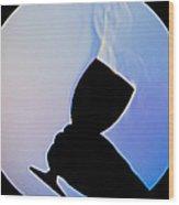 Schlieren Image Of Wine Vapors Wood Print