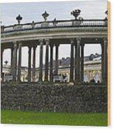 Schloss Sanssouci Gardens Wood Print