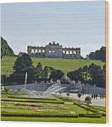 Schonbrunn Palace Gardens  Wood Print