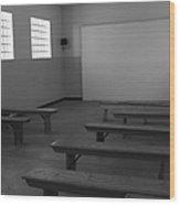School Of Defiance  Wood Print
