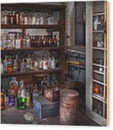 Science - Chemist - The Secret Of Life Wood Print