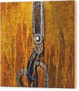 Scissors Wood Print
