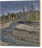 Scotch Creek Bc Wood Print