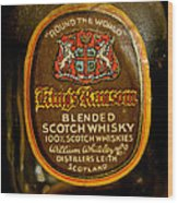 Scotch Whisky Wood Print