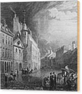 Scotland: Aberdeen, 1833 Wood Print