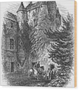 Scotland: Castle Wood Print