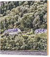 Scotland Homes Wood Print