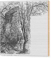 Scotland: Jedburgh House Wood Print