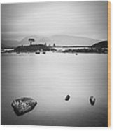 Scotland Nah Achlaise Wood Print