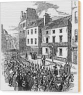 Scotland: Perth, 1848 Wood Print