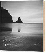 Scotland Talisker Bay Wood Print