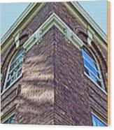 Scott County Courthouse Corner Detail Wood Print
