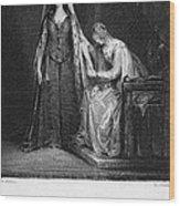 Scott: Ivanhoe, 1832 Wood Print