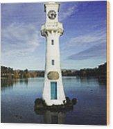 Scott Memorial Lighthouse 2 Wood Print