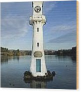 Scott Memorial Roath Park Cardiff Wood Print