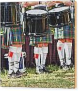 Scottish Festival 3 Wood Print