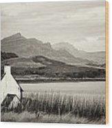 Scottish Scene Wood Print