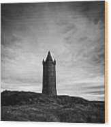 Scrabo Tower Newtownards County Down Northern Ireland Wood Print