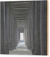 Scripps Pier La Jolla California2 Wood Print