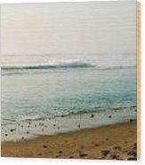 Sea And Sand Wood Print