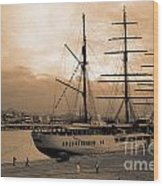 Sea Cloud II Wood Print