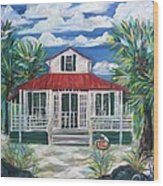Sea Crest Wood Print by Doralynn Lowe
