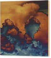 Sea Of Clouds Wood Print