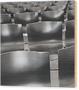 Sea Of Seats I Wood Print