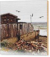 Sea Shanty Wood Print