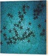 Sea Stars At Gordon Rocks Wood Print