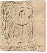 Sea Woman 2 Wood Print