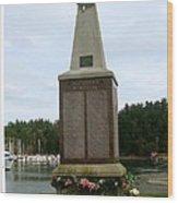 Seafarer's Memorial Wood Print