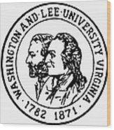 Seal: Washington & Lee Wood Print