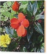 Seasonal Bouquet Wood Print