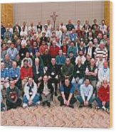 Seattle Archdiocese 2008 Priests. Wood Print