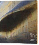 Seattle Emp Building 6 Wood Print